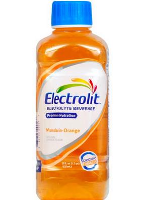 FREE Electrolit beverage