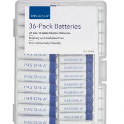 Insignia™ - AA / AAA Batteries (36-Pack)
