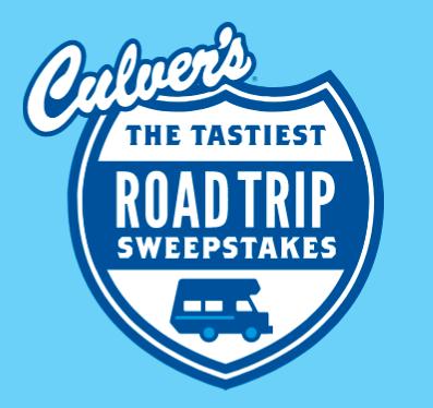Culver's ''Tastiest Road Trip'' Instant Win Game (1,500 Winners)