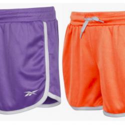 Reebok Girl's Mesh Gym Shorts