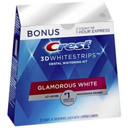 Crest 3D Whitestrips Teeth Whitening Kit, 16 Treatments