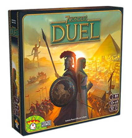 7 Wonders Duel Strategy Board Game