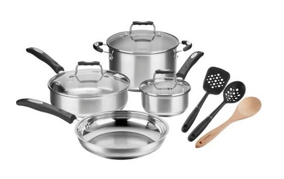 Cuisinart 10 Piece Cookware Set
