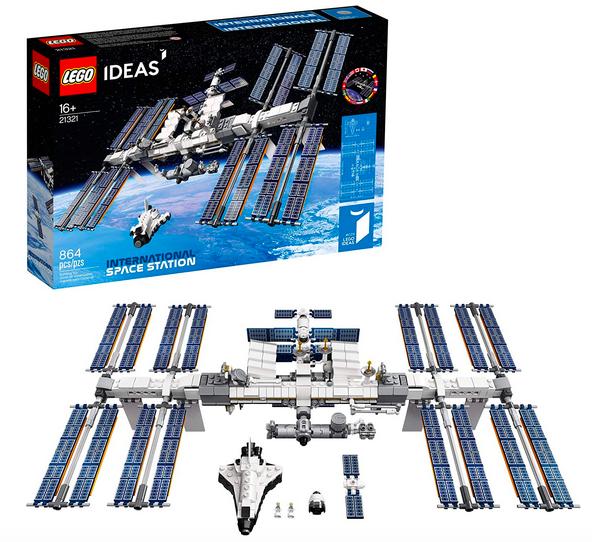LEGO Ideas International Space Station 21321 Building Kit