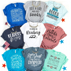 Reading and Books Tees