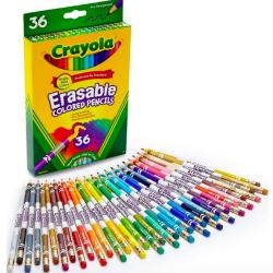 Crayola Erasable Colored Pencils, 36 Count