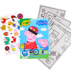 96-Page Crayola Coloring Books w/ Stickers