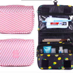 Portable Toiletry & Cosmetic Bag
