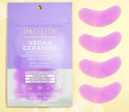 Free Sample of Pacifica Vegan Ceramide Jelly Under Eye Patches