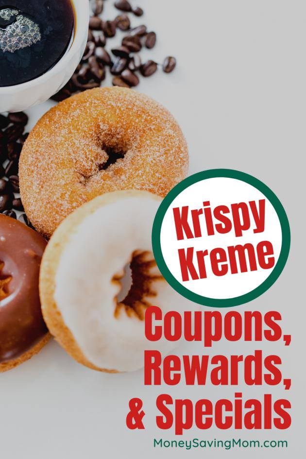 Krispy Kreme rewards, specials, and coupons