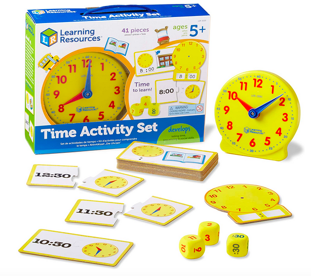 Learning Resources Time Activity Set
