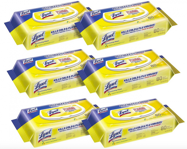 Lysol Disinfectant Handi-Pack Wipes