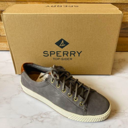 Sperry Women's Vulcanized Anchor Plushwave LTT Suede Shoes