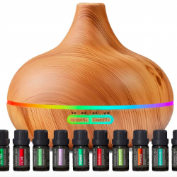 Ultimate Aromatherapy Diffuser & Essential Oil Set