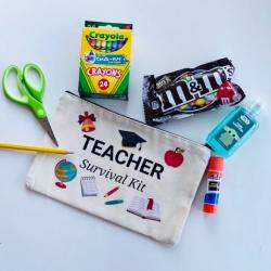 Back to School Teacher Pouch