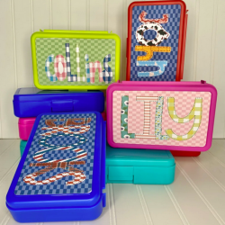 Personalized Pencil Boxes