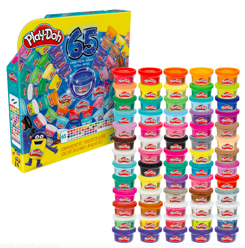 Play-Doh Ultimate Color Collection 65-Pack of Assorted 1-Ounce Cans