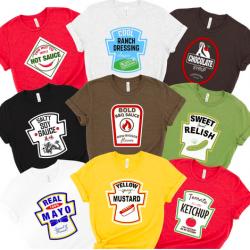 Condiment T-Shirts