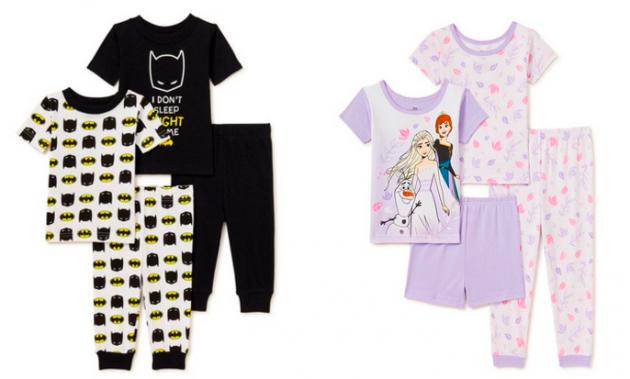 4-Piece Baby & Toddler Cotton Pajamas Sets