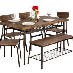 6-Piece Modern Dining Set