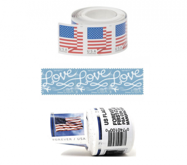 Usps Postage Stamps (100-pack) Lone $46.89 Shipped! {it's Back!!}