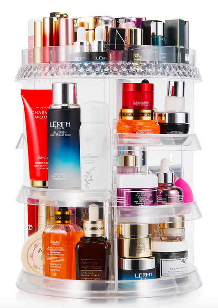 Makeup 360 Degree Rotation Organizer