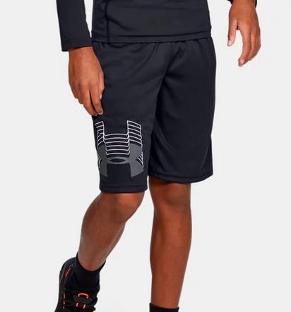 Boys' UA Prototype Logo Shorts