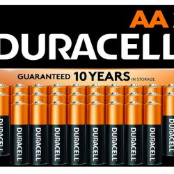 Duracell - CopperTop AA Alkaline Batteries