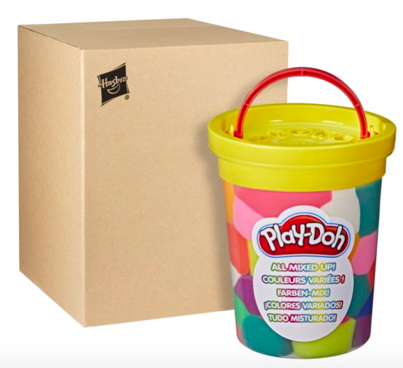 Play-Doh Big Can of Crazy Pre-Mixed Modeling Compound Colors