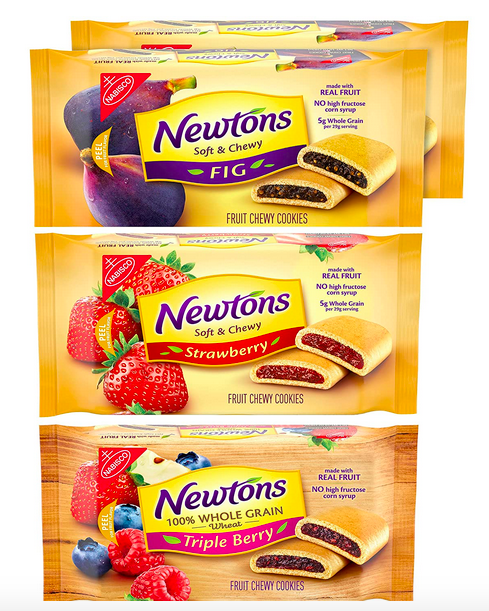 Newtons Soft & Chewy Cookies Variety Pack