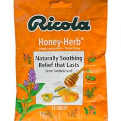 Ricola Herb Cough Suppressant Throat Drops