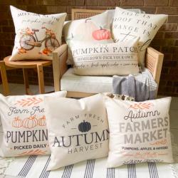Modern Farmhouse Fall Pillow Covers
