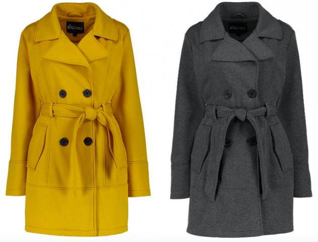 Fleece Trench Coats