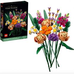 LEGO Flower Bouquet Building Kit