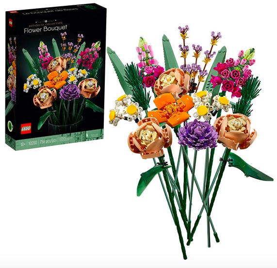 Lego Angiosperm Bouquet Gathering Kit Lone $40 Shipped!