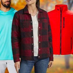 Jackets by Columbia, Marmot, Helly Hanson