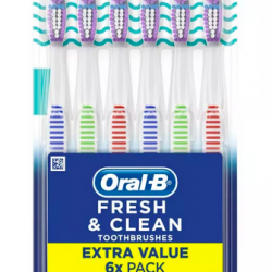 Oral-B Fresh & Clean Toothbrushes