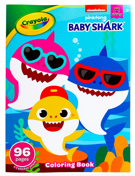 Crayola Coloring Books With Stickers Lone $1.99!