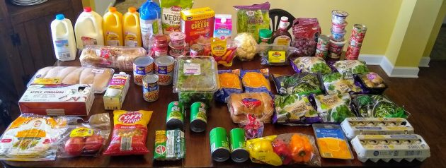 Brigette's $93 Market Buying Journey And Period Card Program For 6