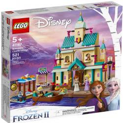 LEGO Disney Frozen II Arendelle Castle Village 41167 Toy Castle Building Set