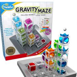 ThinkFun Gravity Maze Marble Run Brain Game and STEM Toy