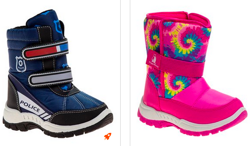 Kid's Snowfall Boots As Low As $14.99!