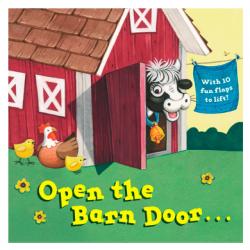 Open the Barn Door Board Book