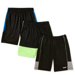 Hind Boys Performance Shorts, 3-Pack