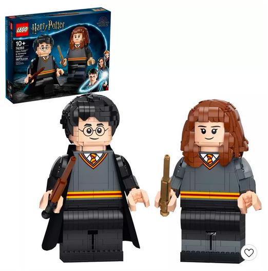 LEGO Harry Potter: Harry Potter & Hermione Granger 76393 Building Kit