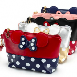 Character-Inspired Cosmetic Bags