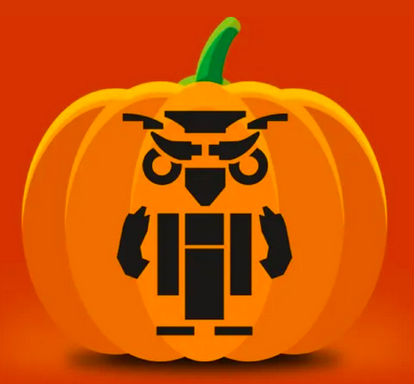 Escaped Pumpkin Carving Stencils From Lego!