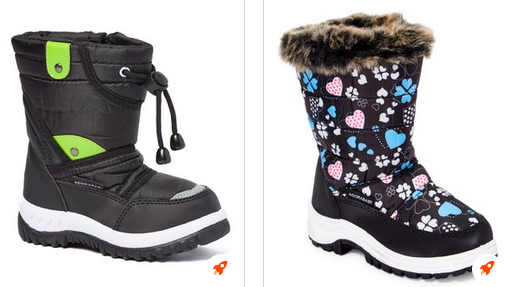 Toddler And Kid's Duck Boots Lone $16.99 Aft Exclusive Discount!