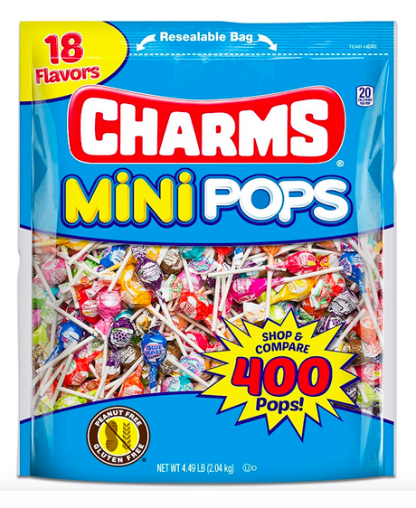 Charms Mini Pops (400 Number) Lone $8.49 Shipped!