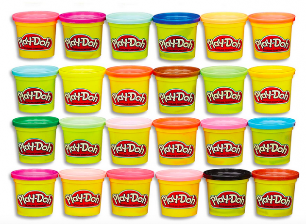 Modeling Compound 24-Pack Case of Colors